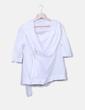Camisa blanca con cinturón Hoss Intropia