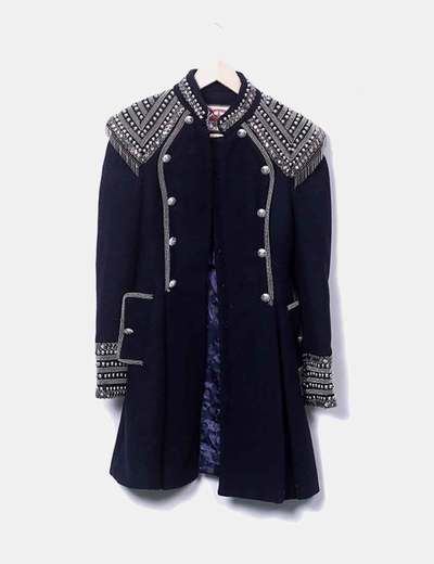Highly Preppy long coat