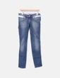 Jeans denim cremallera Fornarina