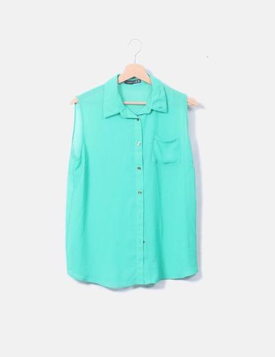 Blusa verde de tirantes