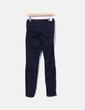 Pantalón pitillo azul marino Zara