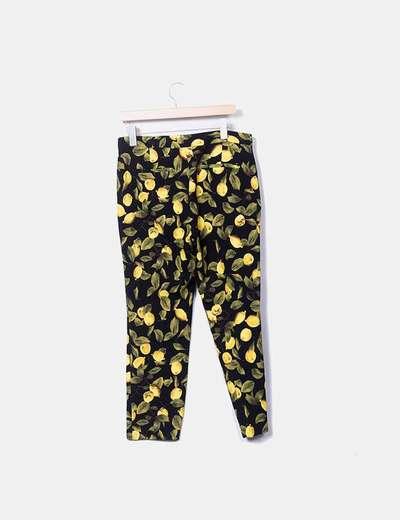 pantalon limones zara