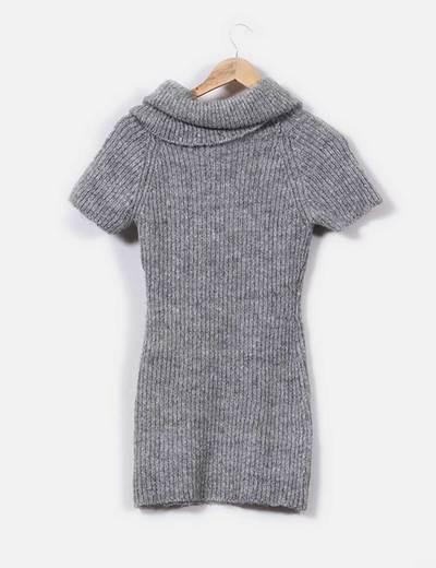 Jersey gris manga corta