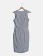 Vestido midi gris jaspeado H&M
