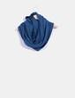 Bufanda tricot azul NoName