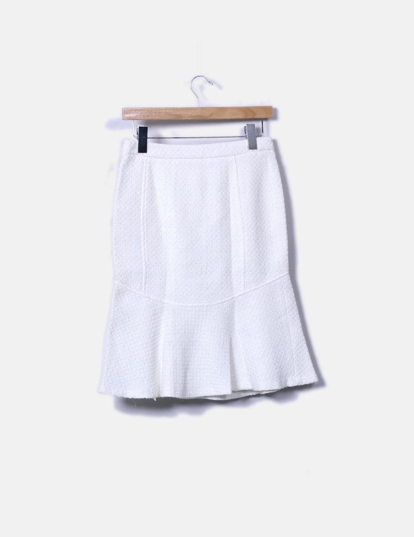 a754ba23a online blanca Falda de baratas vuelo punto Zara Faldas con 8FRwqC ...