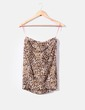 Top palabra de honor print leopardo Bershka