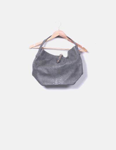 Green textured bag Dayaday
