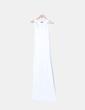 Maxi vestido blanco d tirantes Topshop