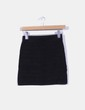 Falda mini negra Promod