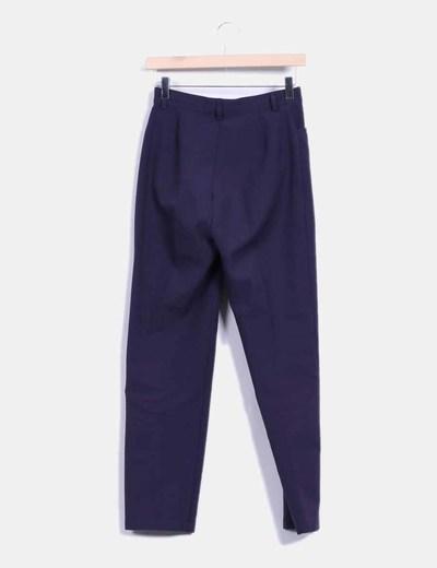 Pantalon azul marino de vestir