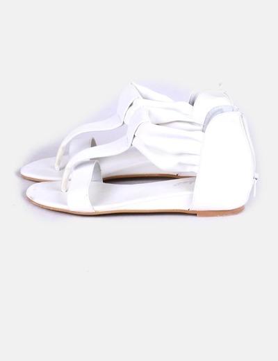 Sandalia blanca Lunhui