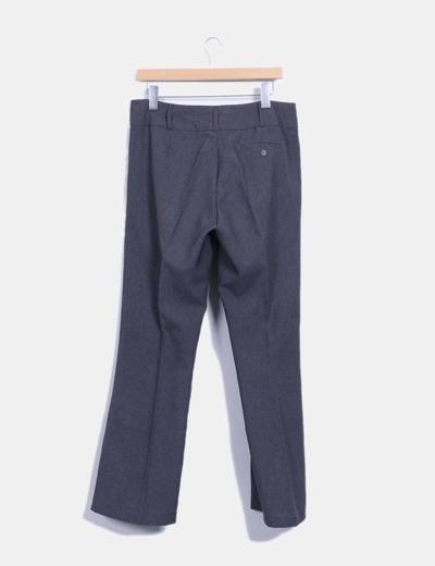 Pantalon gris marengo sarga