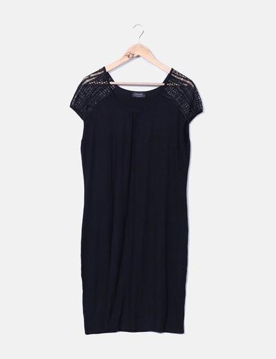 Lace shoulders dress C&A