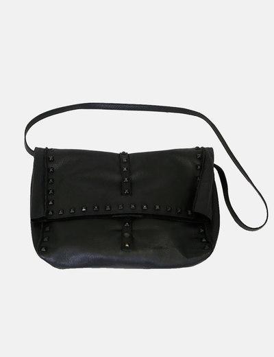 6f2726093 Zara Bolso piel tachuelas negro (descuento 61%) - Micolet