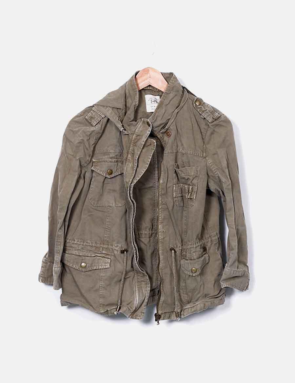 Y Online Chaquetas De Verde Militar Abrigos Baratos Mujer Chaqueta Yw5P0