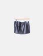 Mini falda polipiel con cremallera Inside