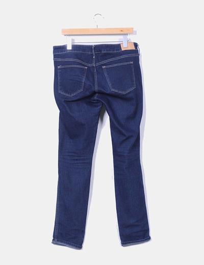 Jeans azul tono oscuro