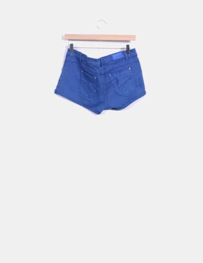 Short azul marino