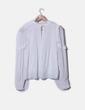 Blusa bianca plumettata Zara