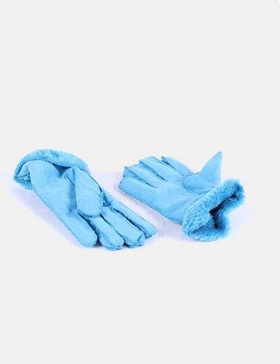 Guante azul de terciopelo NoName