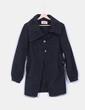 Manteau noir brocade ONLY