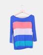 Camiseta multicolor manga larga NoName