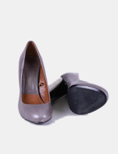 Grises Tacón Tacón Zapatos Grises Ancho Zapatos Zapatos Grises Ancho 13FTJKulc