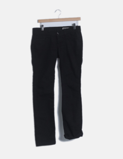 Pantalón negro con strass