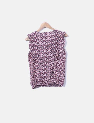 Camiseta estampado cachemira