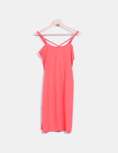 Vestido coral tirantes Fashion Pills