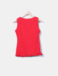 T-shirt rouge imprimé cat Lolitas