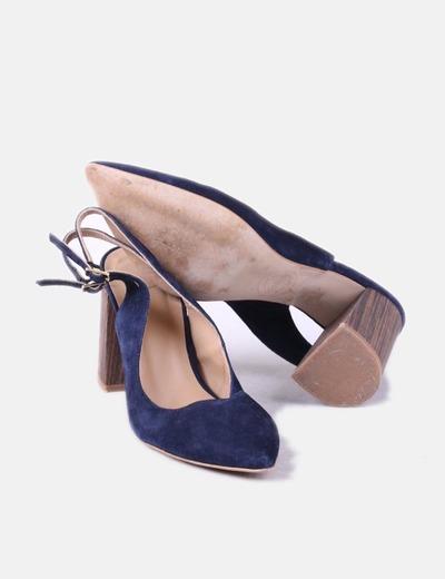 gran descuento al por mayor online nueva lanzamiento Zapato tacón azul marino