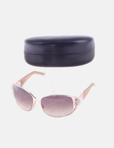 Gafas de sol rose gold detalle pedrería