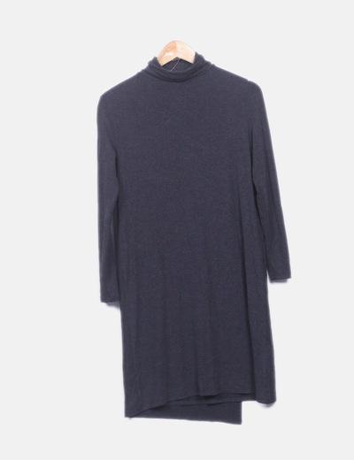 Maxi vestido gris oscuro
