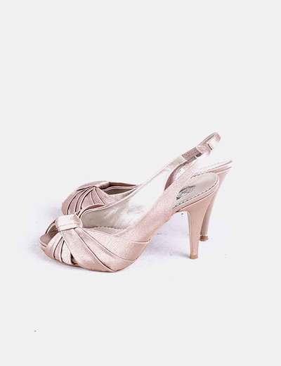 Micolet Dorado Zapatos Paco Satén 73 Plataforma descuento Rodríguez qUwn0FaT
