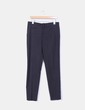 Pantalón negro de pinzas Zara