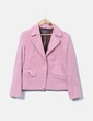 Blazer rosa bolsillos Trucco