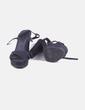 Sandalia de tacón negra Marypaz