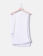 Foulard blanc en tricot Zara