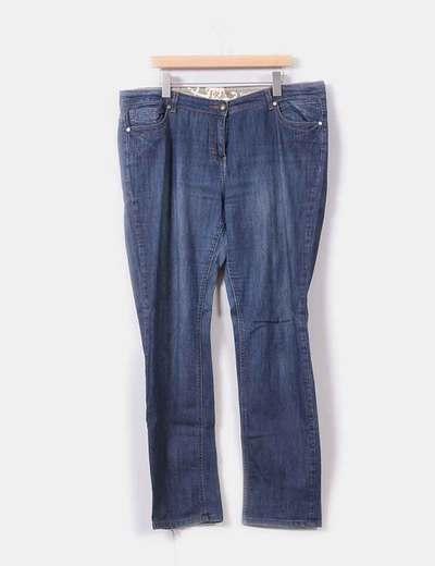Jeans recto tono medio  Ms mode