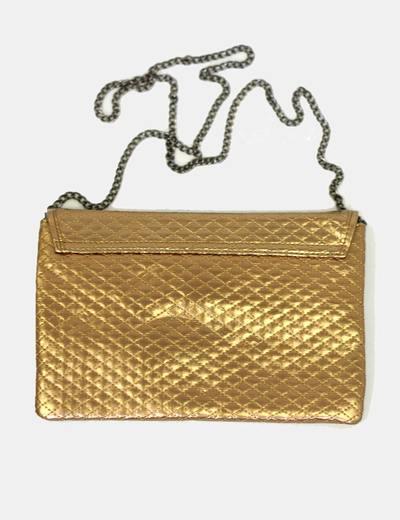 diseñador de moda 1e0d9 62358 Bolso sobre dorado