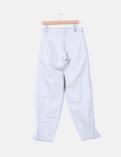 Pantalon beige bombacho