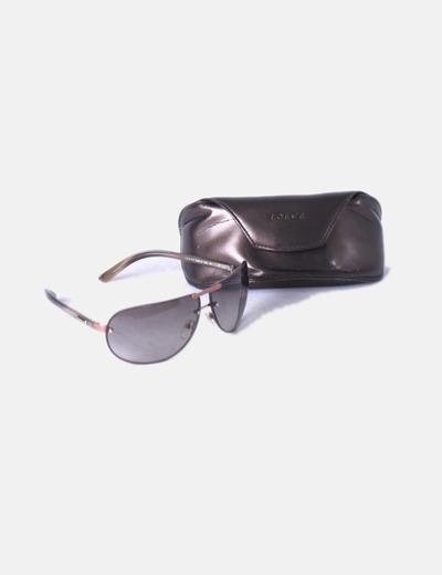 Gafas de sol marrones