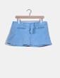 Mini falda vaquera color azul cielo Bershka