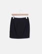 Minifalda negra cremallera Suiteblanco