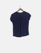 Camiseta azul marina manga corta Lefties