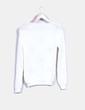 Jersey de punto blanco cerezas Byzette