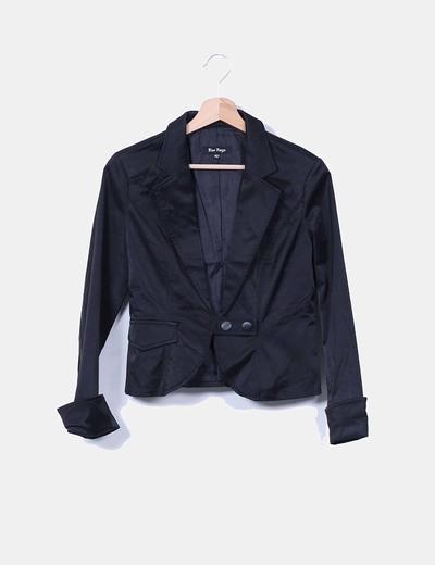 Blazer negra Blue Rags