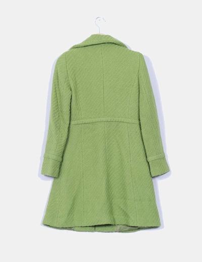 Abrigo mango verde